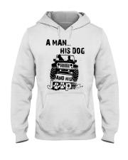 A Man His Dog And His Jeep Shirt Hooded Sweatshirt thumbnail