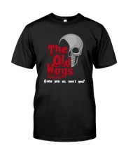 Skull The Old Ways Podcast Come Join Us Shirt Premium Fit Mens Tee thumbnail