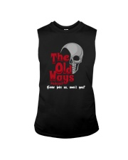 Skull The Old Ways Podcast Come Join Us Shirt Sleeveless Tee thumbnail