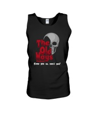 Skull The Old Ways Podcast Come Join Us Shirt Unisex Tank thumbnail