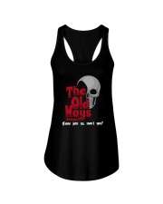 Skull The Old Ways Podcast Come Join Us Shirt Ladies Flowy Tank thumbnail