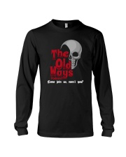 Skull The Old Ways Podcast Come Join Us Shirt Long Sleeve Tee thumbnail