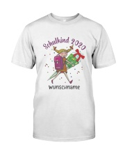 Schulkind 2020 Wunschname Shirt Classic T-Shirt front