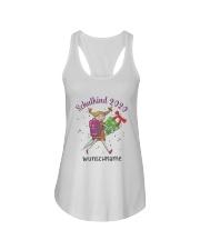 Schulkind 2020 Wunschname Shirt Ladies Flowy Tank thumbnail
