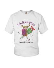 Schulkind 2020 Wunschname Shirt Youth T-Shirt thumbnail