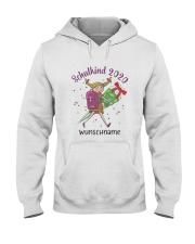 Schulkind 2020 Wunschname Shirt Hooded Sweatshirt thumbnail