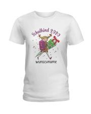 Schulkind 2020 Wunschname Shirt Ladies T-Shirt thumbnail