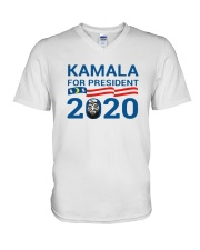 Kamala For President 2020 Shirt V-Neck T-Shirt thumbnail