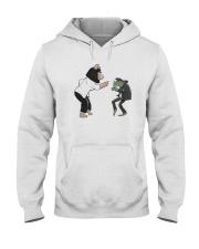 Frog Piggy Fiction Dance Shirt Hooded Sweatshirt thumbnail
