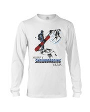 Mountain Happy Snowboarding Year Shirt Long Sleeve Tee tile