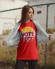 Kc Chiefs Vote Shirt Classic T-Shirt apparel-classic-tshirt-lifestyle-07