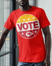 Kc Chiefs Vote Shirt Classic T-Shirt apparel-classic-tshirt-lifestyle-front-39