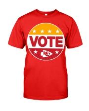 Kc Chiefs Vote Shirt Classic T-Shirt front