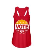 Kc Chiefs Vote Shirt Ladies Flowy Tank thumbnail