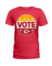 Kc Chiefs Vote Shirt Ladies T-Shirt thumbnail