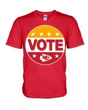 Kc Chiefs Vote Shirt V-Neck T-Shirt thumbnail