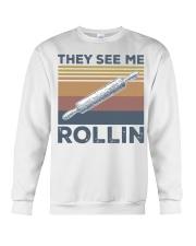 Vintage They See Me Rollin Shirt Crewneck Sweatshirt thumbnail