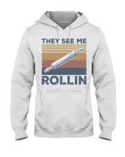 Vintage They See Me Rollin Shirt Hooded Sweatshirt thumbnail