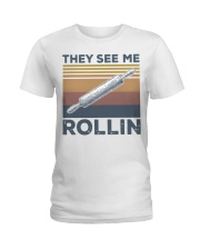 Vintage They See Me Rollin Shirt Ladies T-Shirt thumbnail