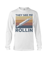 Vintage They See Me Rollin Shirt Long Sleeve Tee thumbnail