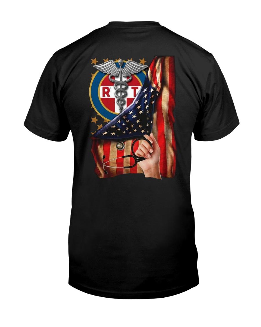 Respiratory Therapist American Flag Shirt Classic T-Shirt