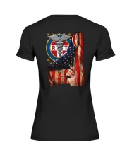 Respiratory Therapist American Flag Shirt Premium Fit Ladies Tee thumbnail