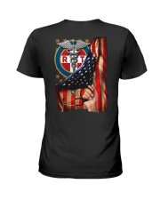 Respiratory Therapist American Flag Shirt Ladies T-Shirt thumbnail
