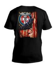 Respiratory Therapist American Flag Shirt V-Neck T-Shirt thumbnail