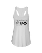 I Am A Simple Girl Like Jagermeister Slipper Shirt Ladies Flowy Tank thumbnail