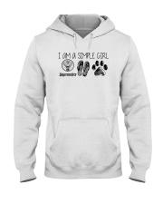I Am A Simple Girl Like Jagermeister Slipper Shirt Hooded Sweatshirt thumbnail
