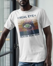 Vintage Weed Real Eye Realize Real High Shirt Classic T-Shirt apparel-classic-tshirt-lifestyle-front-39