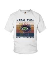 Vintage Weed Real Eye Realize Real High Shirt Youth T-Shirt thumbnail