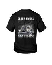 Trucker Black Smoke Matter Shirt Youth T-Shirt thumbnail