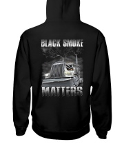 Trucker Black Smoke Matter Shirt Hooded Sweatshirt thumbnail