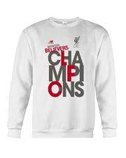 Lfc Doubters Believers Champions Shirt Crewneck Sweatshirt thumbnail