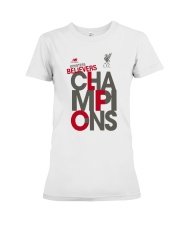 Lfc Doubters Believers Champions Shirt Premium Fit Ladies Tee thumbnail