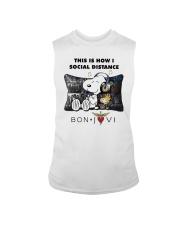 This Is How I Social Distance Bon Jovi Shirt Sleeveless Tee thumbnail