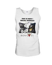This Is How I Social Distance Bon Jovi Shirt Unisex Tank thumbnail