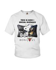 This Is How I Social Distance Bon Jovi Shirt Youth T-Shirt thumbnail