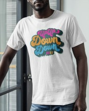 Up Up Down Down Shirt Classic T-Shirt apparel-classic-tshirt-lifestyle-front-39