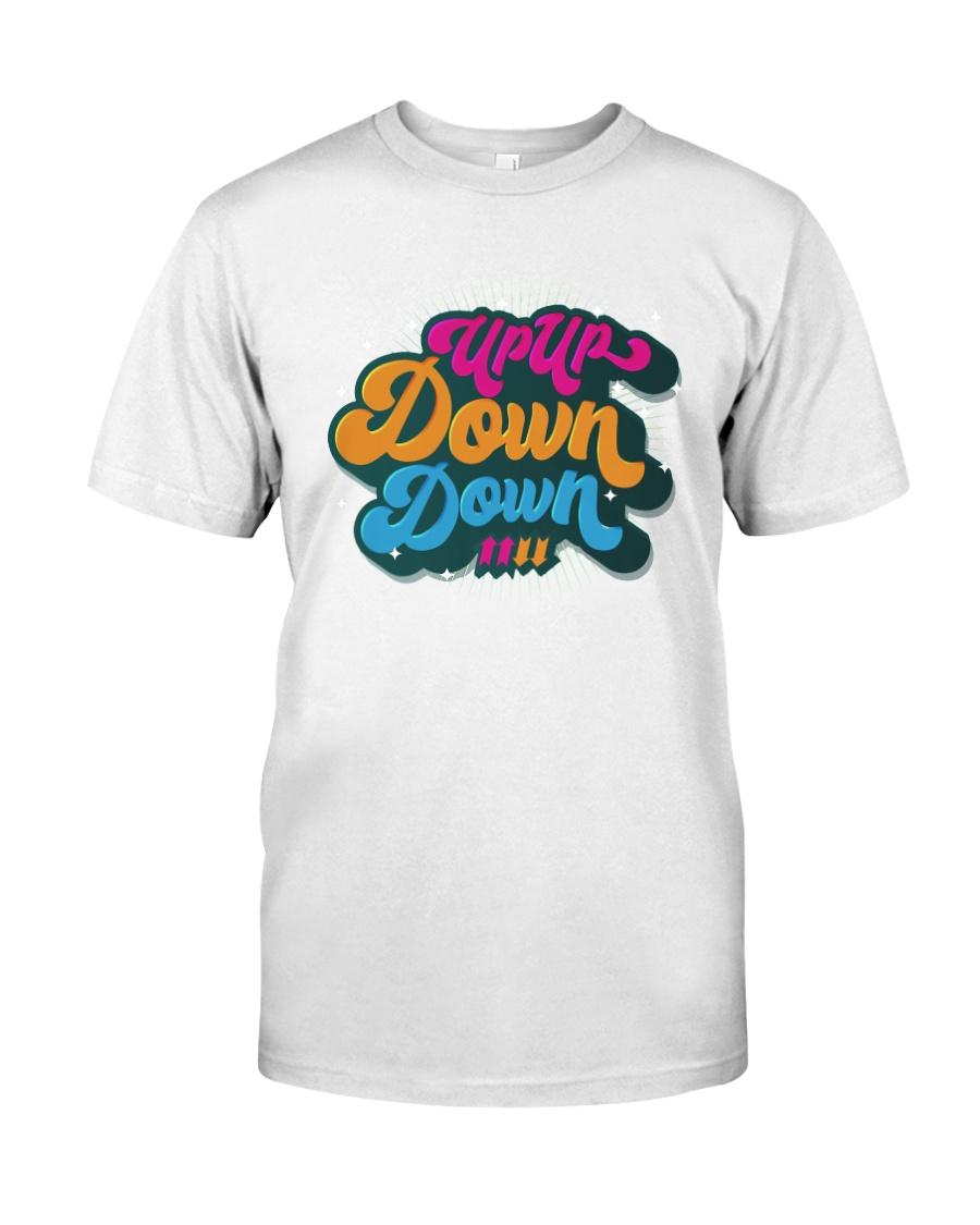 Up Up Down Down Shirt Classic T-Shirt