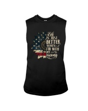 Life Is Just Better When Im With My Husband Shirt Sleeveless Tee thumbnail