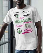 Need Herbalife Nutrition I'm Your Girl Shirt Classic T-Shirt apparel-classic-tshirt-lifestyle-front-39