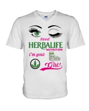 Need Herbalife Nutrition I'm Your Girl Shirt V-Neck T-Shirt thumbnail