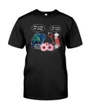 Horses And Sausage She Loves Me More Shirt Classic T-Shirt front