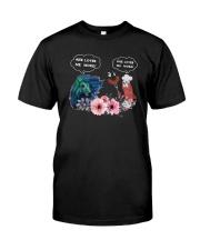 Horses And Sausage She Loves Me More Shirt Premium Fit Mens Tee thumbnail