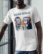 Vintage American Flag Squad Goals Shirt Classic T-Shirt apparel-classic-tshirt-lifestyle-front-39