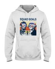 Vintage American Flag Squad Goals Shirt Hooded Sweatshirt thumbnail