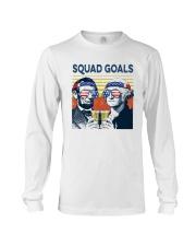 Vintage American Flag Squad Goals Shirt Long Sleeve Tee thumbnail