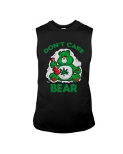 Cannabis Don't Care Bear Shirt Sleeveless Tee thumbnail